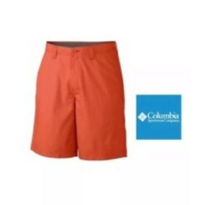 Columbia Sportswear Mens Short Angus Spring Orange